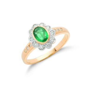 Diamond & Emerald Rings