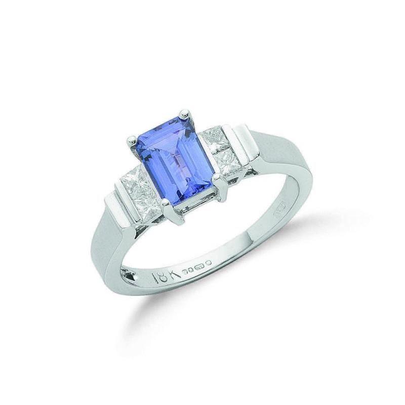 Diamond & Tanzanite Rings