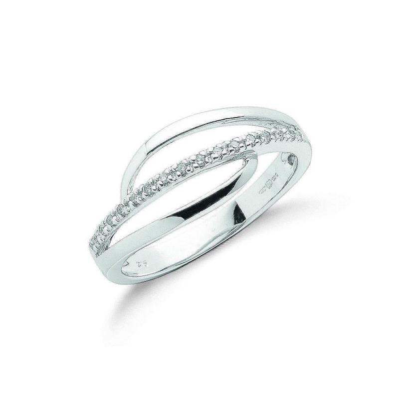 9ct white gold diamondfancyring