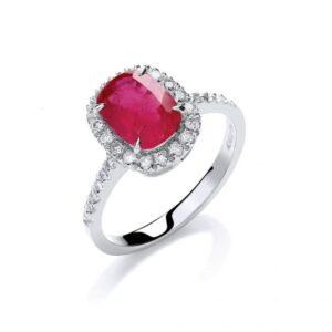 Diamond & Ruby Rings