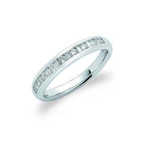 18ct White Gold Baguette Diamond Eternity Ring