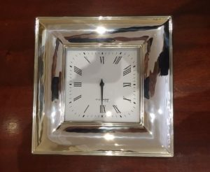Silver Clocks