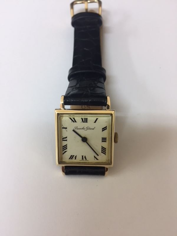Ladies 9ct Gold Bueche-Girod Watch
