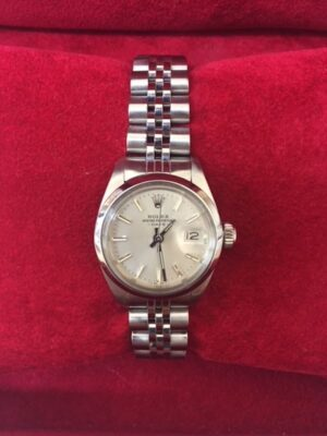 Ladies Rolex Oyster Perpetual Date Watch